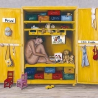 Yellow Cupboard