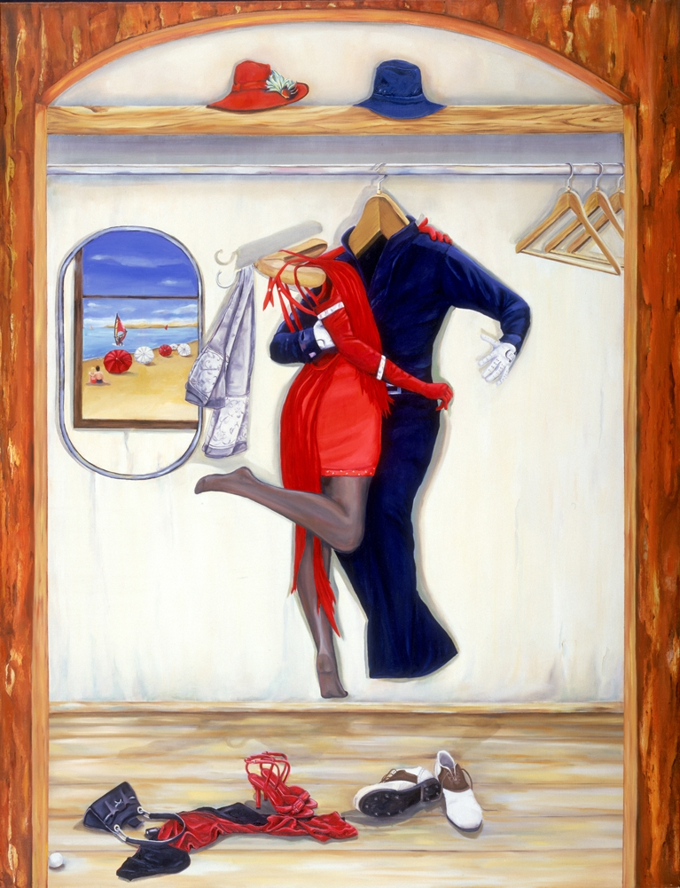 Tango-View on the beach